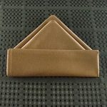 Fold Napkins in the Double Pyramid Style
